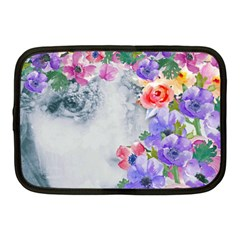 Flower Girl Netbook Case (medium)  by 8fugoso