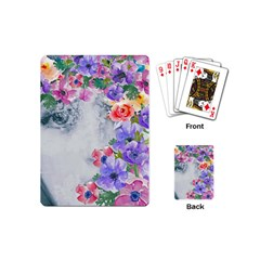 Flower Girl Playing Cards (mini)  by 8fugoso