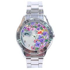 Flower Girl Stainless Steel Analogue Watch by 8fugoso