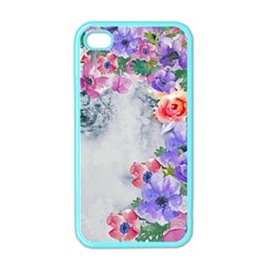Flower Girl Apple Iphone 4 Case (color) by 8fugoso