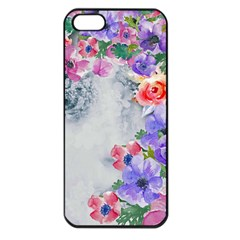 Flower Girl Apple Iphone 5 Seamless Case (black) by 8fugoso