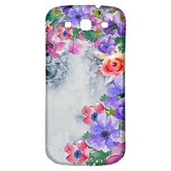Flower Girl Samsung Galaxy S3 S Iii Classic Hardshell Back Case by 8fugoso