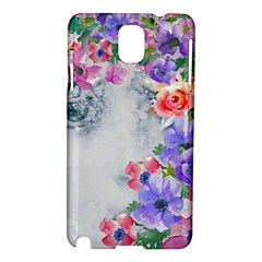 Flower Girl Samsung Galaxy Note 3 N9005 Hardshell Case by 8fugoso