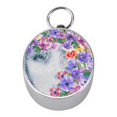 Flower Girl Mini Silver Compasses by 8fugoso