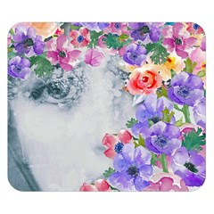 Flower Girl Double Sided Flano Blanket (small)  by 8fugoso