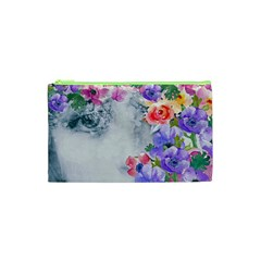 Flower Girl Cosmetic Bag (xs) by 8fugoso