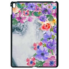 Flower Girl Apple Ipad Pro 9 7   Black Seamless Case by 8fugoso