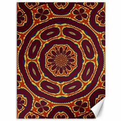 Geometric Tapestry Canvas 36  X 48   by linceazul
