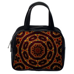 Geometric Tapestry Classic Handbags (one Side) by linceazul