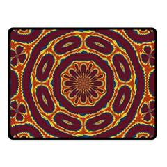 Geometric Tapestry Fleece Blanket (small) by linceazul