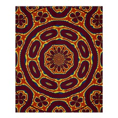 Geometric Tapestry Shower Curtain 60  X 72  (medium)  by linceazul