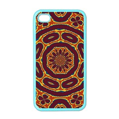Geometric Tapestry Apple Iphone 4 Case (color) by linceazul