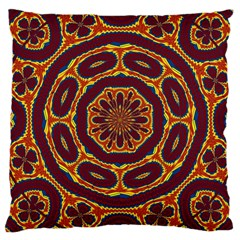 Geometric Tapestry Large Cushion Case (two Sides) by linceazul