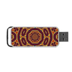 Geometric Tapestry Portable Usb Flash (two Sides) by linceazul