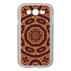 Geometric Tapestry Samsung Galaxy Grand Duos I9082 Case (white) by linceazul
