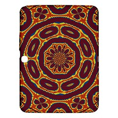 Geometric Tapestry Samsung Galaxy Tab 3 (10 1 ) P5200 Hardshell Case  by linceazul