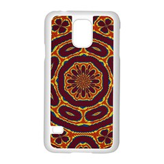 Geometric Tapestry Samsung Galaxy S5 Case (white) by linceazul
