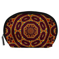 Geometric Tapestry Accessory Pouches (large)  by linceazul