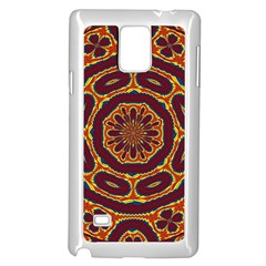 Geometric Tapestry Samsung Galaxy Note 4 Case (white) by linceazul