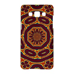 Geometric Tapestry Samsung Galaxy A5 Hardshell Case  by linceazul