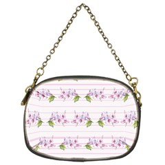 Floral Pattern Chain Purses (one Side)  by SuperPatterns