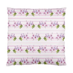 Floral Pattern Standard Cushion Case (two Sides) by SuperPatterns