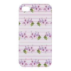 Floral Pattern Apple Iphone 4/4s Premium Hardshell Case by SuperPatterns