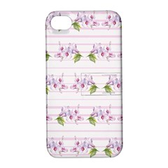 Floral Pattern Apple Iphone 4/4s Hardshell Case With Stand by SuperPatterns