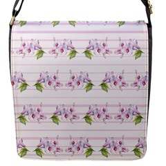 Floral Pattern Flap Messenger Bag (s) by SuperPatterns