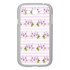 Floral Pattern Samsung Galaxy Grand Duos I9082 Case (white) by SuperPatterns