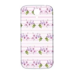 Floral Pattern Samsung Galaxy S4 I9500/i9505  Hardshell Back Case by SuperPatterns