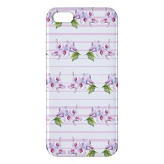 Floral Pattern Iphone 5s/ Se Premium Hardshell Case by SuperPatterns