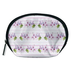Floral Pattern Accessory Pouches (medium)  by SuperPatterns