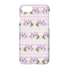 Floral Pattern Apple Iphone 7 Hardshell Case by SuperPatterns