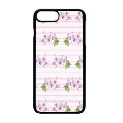 Floral Pattern Apple Iphone 7 Plus Seamless Case (black) by SuperPatterns