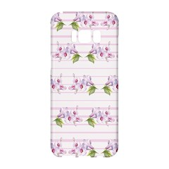 Floral Pattern Samsung Galaxy S8 Hardshell Case  by SuperPatterns
