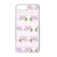 Floral Pattern Apple Iphone 8 Plus Seamless Case (white) by SuperPatterns
