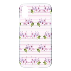 Floral Pattern Apple Iphone X Hardshell Case by SuperPatterns