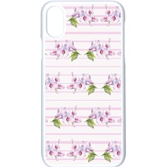 Floral Pattern Apple Iphone X Seamless Case (white) by SuperPatterns