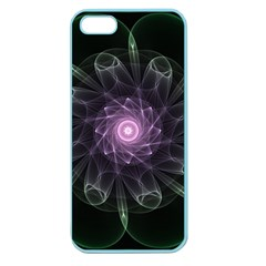 Mandala Fractal Light Light Fractal Apple Seamless Iphone 5 Case (color) by Celenk