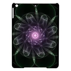 Mandala Fractal Light Light Fractal Ipad Air Hardshell Cases by Celenk