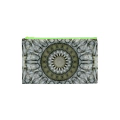 Mandala Sand Color Seamless Tile Cosmetic Bag (xs) by Celenk