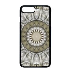 Mandala Sand Color Seamless Tile Apple Iphone 8 Plus Seamless Case (black)