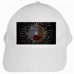 Whole Complete Human Qualities White Cap by Celenk