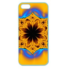Digital Art Fractal Artwork Flower Apple Seamless Iphone 5 Case (color) by Celenk