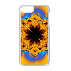 Digital Art Fractal Artwork Flower Apple Iphone 8 Plus Seamless Case (white) by Celenk