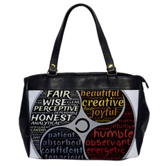 Person Character Characteristics Office Handbags by Celenk