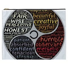 Person Character Characteristics Cosmetic Bag (xxxl)  by Celenk