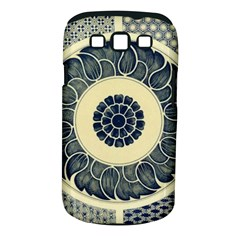 Background Vintage Japanese Samsung Galaxy S Iii Classic Hardshell Case (pc+silicone) by Celenk