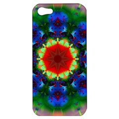 Fractal Digital Mandala Floral Apple Iphone 5 Hardshell Case by Celenk